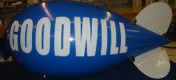 Advertising Blimp 11 ft. with logo