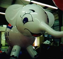 Elephant custom helium balloon