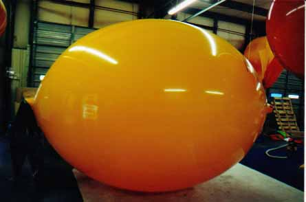 Lemon Shape Helium Balloons