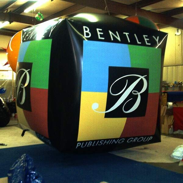 Custom Cube Shape Helium Balloon