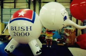 Giant Elephant Helium Balloon for Events