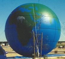25 ft. Globe advertising balloon