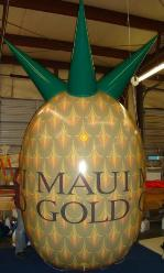 Advertising Balloons for Business Marketing - Pineapple Helium Balloon