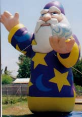 Giant 25 ft. Wizard Advertising Balloon