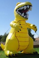 Advertising inflatables available for rental