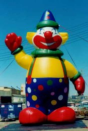 25 ft. tall Clown advertising inflatable