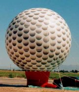 25 ft. Golfball advertising inflatable