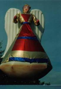 Giant Angel Helium Parade Balloon