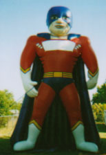 25 ft. Super Hero advertising inflatables for sale and rent