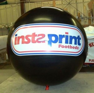 advertising balloon for business marketing