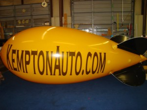 17 ft. advertising blimp for small business promotions