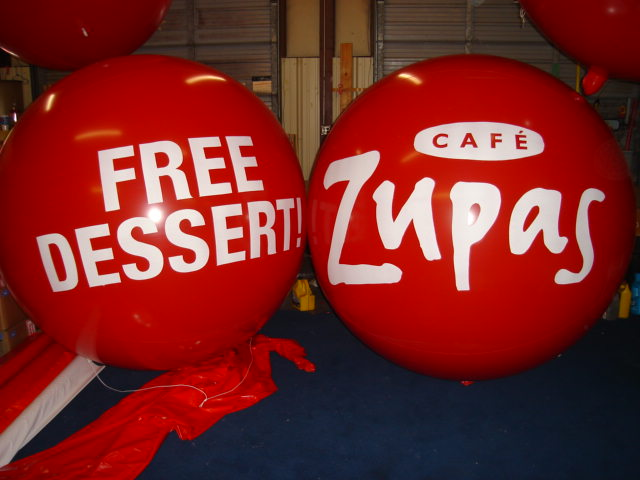 Advertising Balloonszupas Logo Advertising Balloon Advertising