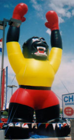 giant Kong shape advertising inflatable