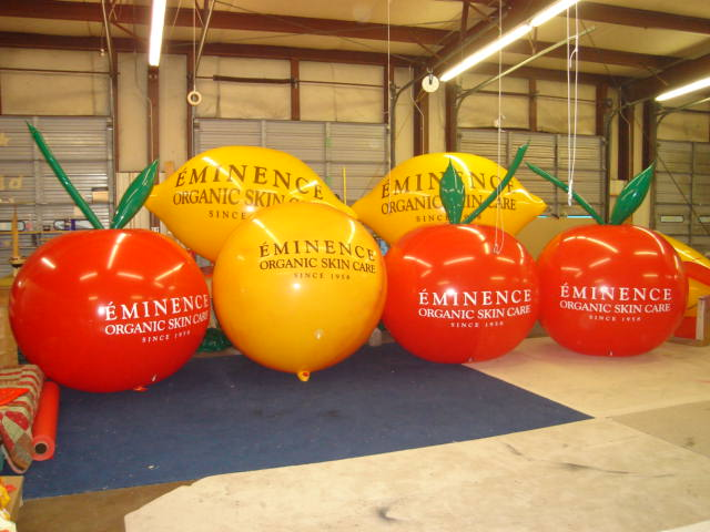 advertising balloons - fruits shape helium advertising balloons