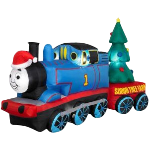 Christmas inflatable - holiday train shape inflatable