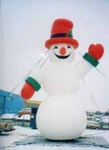 snowman inflatables for rent in Phoenix