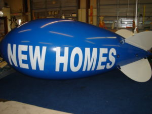 home builder advertising balloons