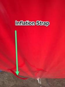 inflation strap