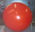 advertising balloon made of polyurethane material