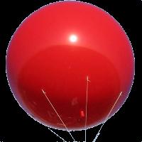 7ft in diameter balloons for marketing.
